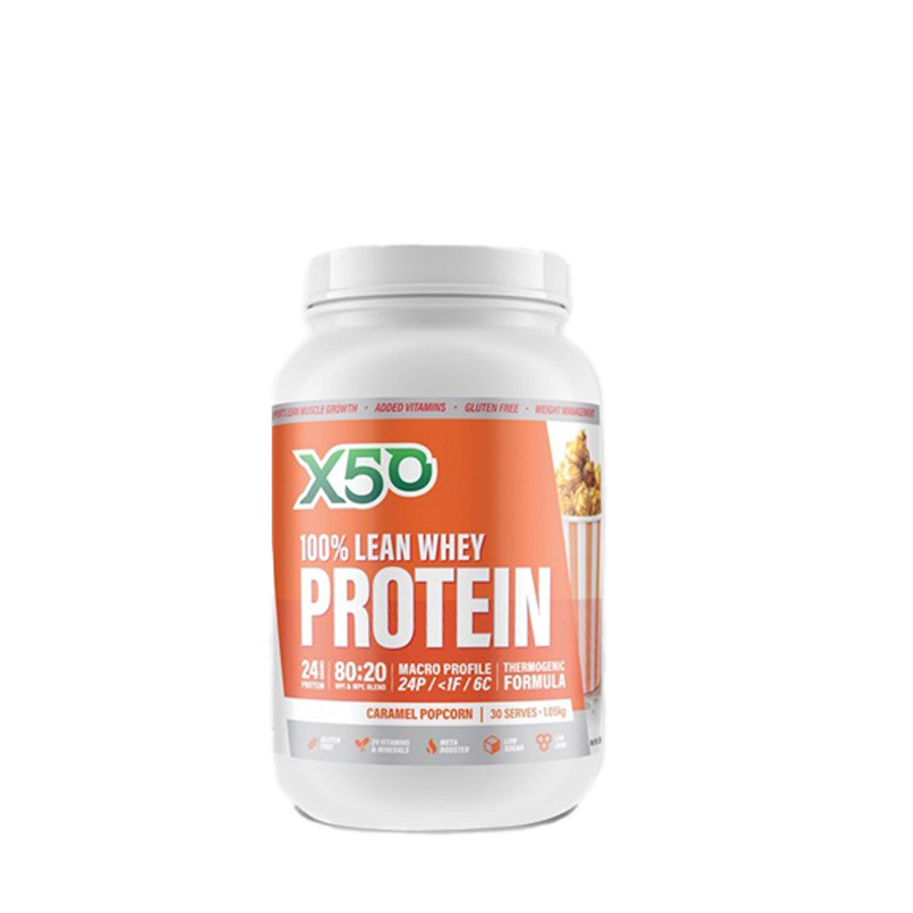 X50 100% lean Whey, GreenTea X50 - Nutrition Co Australia