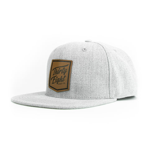Badge Snapback Heather