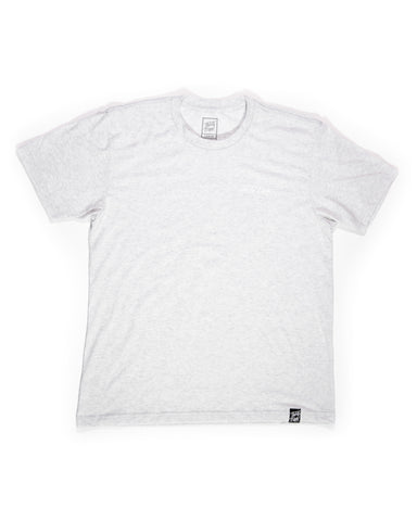 Minimalist Tee White Heather