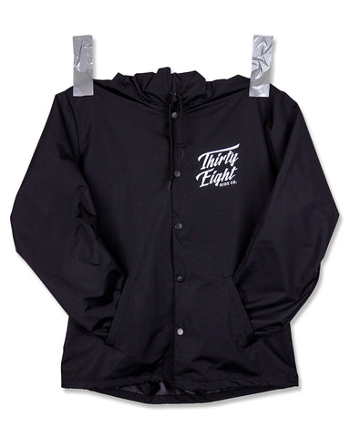 OG Hooded Coach Jacket Black