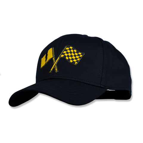 Victory Curved Bill Snapback Black/Gold