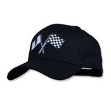 Victory Curved Bill Snapback Black/White