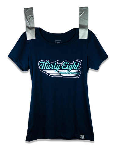 Women's Winged Speed Tee Navy
