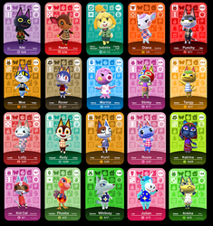 Custom Animal Crossing Amiibo Cards for the nintendo switch and 3ds