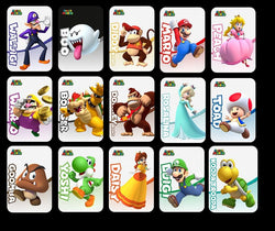photograph about Printable Amiibo Cards titled Mr Amiibo Playing cards
