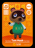 002 tom nook amiibo card