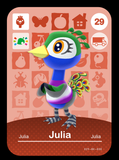 29 julia amiibo card