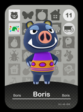 11 boris amiibo card
