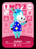 173 Julian Custom Amiibo Card
