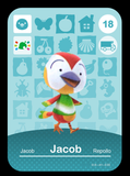 18 jacob amiibo card