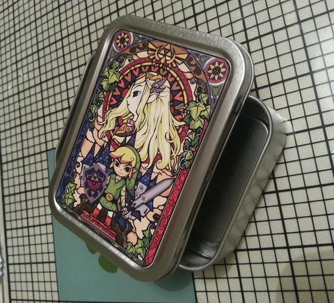 The Legend of Zelda BOTW Custom Amiibo card storage tins