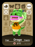 243 drago amiibo card