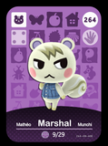 264 marshal amiibo card