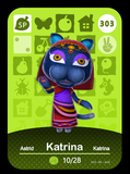 303 kartine amiibo card