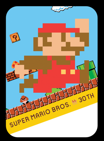 Classic Colors super mario 30th amiibo cards