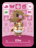 33 ellie amiibo card