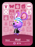 360 rod amiibo card