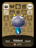 366 ribbot amiibo card