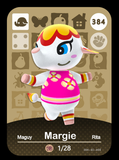 384 Margie amiibo card