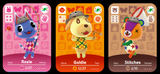 Animal Crossing Festival custom amiibo cards