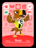47 buzz amiibo card