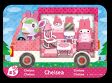 Animal Crossing Sanrio X Chelsea Amiibo card