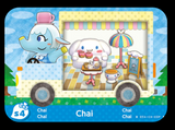 Chia animal crossing amiibo card