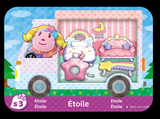 etoile animal crossing amiibo card