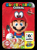 Mario Cereal Custom Amiibo Card