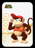 Diddy kong amiibo cards