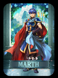 Fire Emblem Marth Amiibo Card