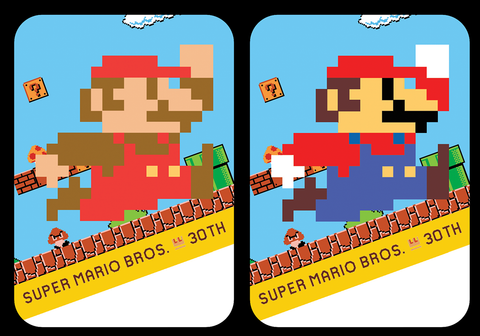 Super Mario Bros 30th amiibo cards