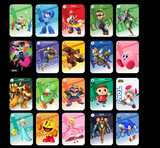 Mario Kart 8 Deluxe Amiibo Cards - Singles or full set of 20 cards