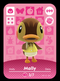 099 molly amiibo card