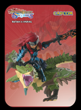 Rathian and Cheval amiibo card