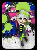 splatoon marie custom amiibo card