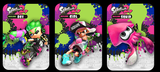 Splatoon 2 3 pack of amiibo cards