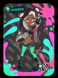 splatoon marina amiibo card