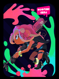 octoling girl amiibo card