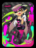splatoon callie amiibo card