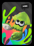 splatoon inkling squid amiibo card