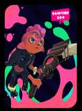 octoling boy amiibo card
