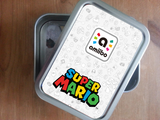 super mario amiibo card storage tins