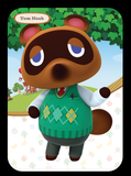 tom nook amiibo figure amiibo card