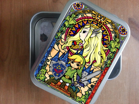 the legend of zelda botw storage tin