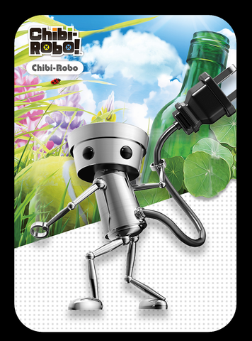 Chibi-Robo Zip lash Custom made amiibo card