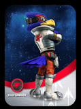 falco ssb custom amiibo card