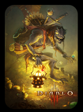 custom diablo amiibo card