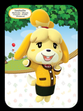 isabelle winter outfit amiibo figure amiibo card