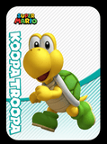koopa troopa amiibo card
